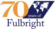 Fulbright-70years_worldmap_gold70